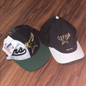 Authentic Dallas stars hat bundle